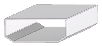 Aluminium Spacer Bar Bendable